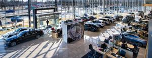 Mercedes, Mercedes Benz, luxury car, car dealership, new car, interior, dealership interior, showroom